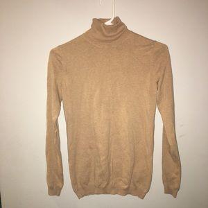 Gap Camel Turtleneck Sweater